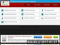 Recover deleted file Website