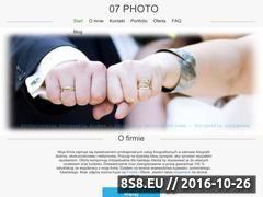 Miniaturka domeny 07photo.pl