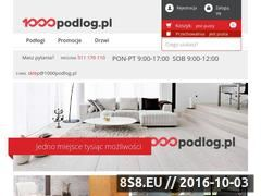 Miniaturka domeny 1000podlog.pl