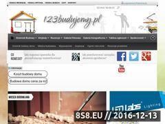 Miniaturka domeny 123budujemy.pl