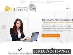 Miniaturka domeny 123wloski.pl