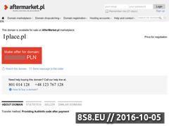 Miniaturka domeny 1place.pl