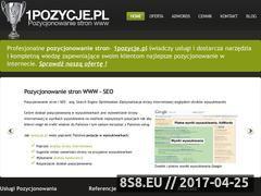 Miniaturka domeny 1pozycje.pl