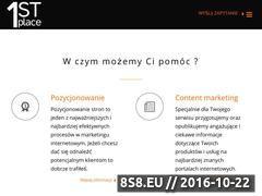 Miniaturka domeny 1stplace.pl