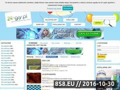 Miniaturka domeny 24-gry.pl