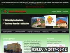 Miniaturka domeny www.2m-malinowski.pl