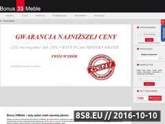 Miniaturka domeny www.33meble.pl
