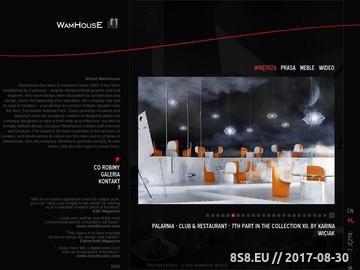 Zrzut strony 3D WAMHOUSE - wizualizacje architektoniczne, wizualizacje wnętrz, projektowanie, architektura, wizualizacje 3d