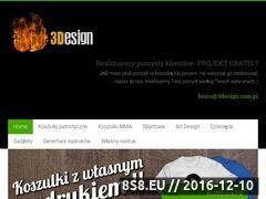 Miniaturka domeny www.3design.com.pl
