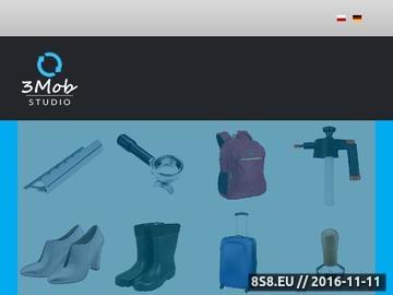 Zrzut strony Packshoty 360