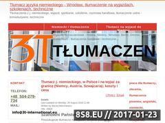 Miniaturka domeny www.3t-international.eu