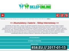 Thumbnail of Akumulatory i baterie - Sklep Mikrolity Website