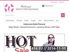 Miniaturka domeny www.4damy.pl
