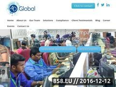4D Global - Outsource Medical Billing And Coding Website