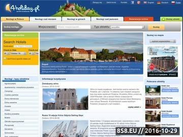 Zrzut strony Noclegi - Baza noclegowa w Polsce - 4holiday.pl