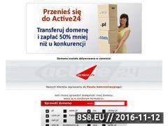 Miniaturka domeny www.4lejdi.pl