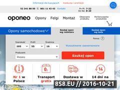 Miniaturka domeny www.4opony.pl