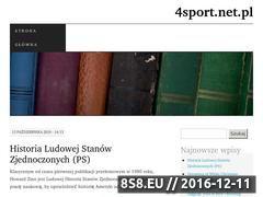 Miniaturka domeny 4sport.net.pl