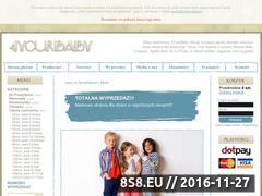 Miniaturka domeny www.4yourbaby.pl