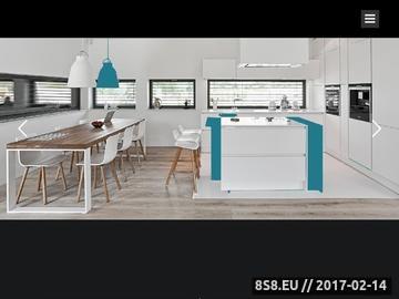 Zrzut strony Kuchnie na wymiar na obszarze Gdańska i Gdyni
