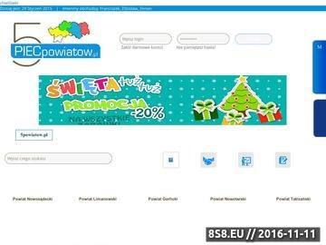 Zrzut strony Informacje i wydarzeniaz kulturalne z pięciu Powiatów Małopolski