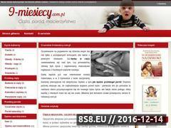 Miniaturka domeny www.9-miesiecy.com.pl