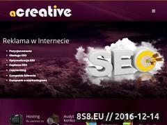 Miniaturka domeny www.a-creative.pl