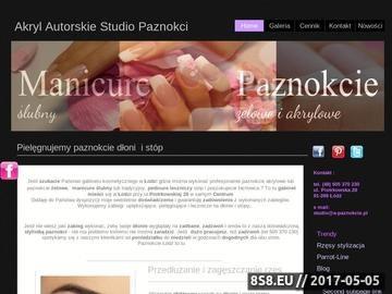 Zrzut strony Stylistka paznokci Łódź