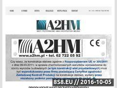 Miniaturka domeny a2hm.pl