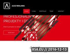 Miniaturka Profesjonalne projekty i druk. Agencja reklamowa a2sz-reklama (a2sz.pl)