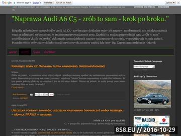 Zrzut strony Audi A6 C5 - zrób to sam