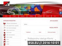 Miniaturka domeny aaprint.com.pl