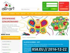 Miniaturka Pomoce rehabilitacyjne i edukacyjne - Ab-Art (www.ab-art.org.pl)