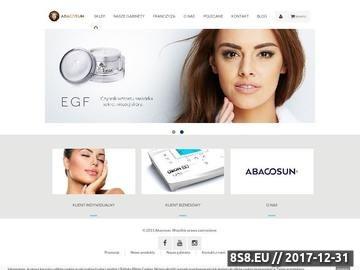Zrzut strony Mobilny sprzęt kosmetyczny Abacosun