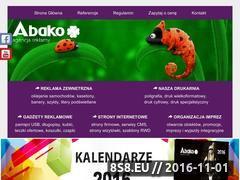 Miniaturka domeny abako.com.pl