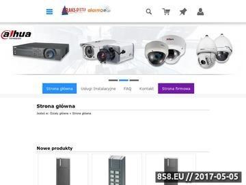 Zrzut strony Abaks-System - rejestratory