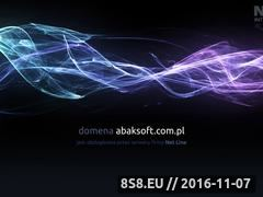 Miniaturka domeny abaksoft.com.pl