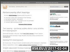 Miniaturka domeny www.abc-leasing.pl