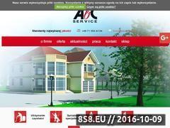 Miniaturka domeny www.abc-service.pl