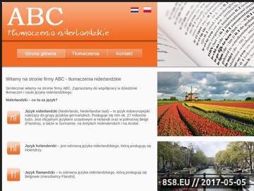 Zrzut strony ABC kursy językowe