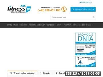 Zrzut strony ABCfitness.pl