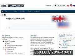 Miniaturka domeny abctlumaczenia.eu