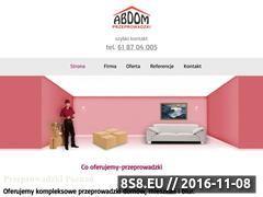 Miniaturka domeny abdom.com.pl