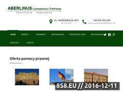 Miniaturka domeny www.aberlinus.eu