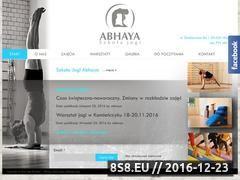 Miniaturka domeny www.abhaya.pl