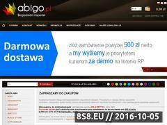 Miniaturka domeny www.abigo.pl