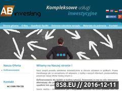 Miniaturka domeny abinvesting.pl