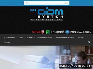 Zrzut strony ABM SYSTEM Urządzenia wielofunkcyjne a3