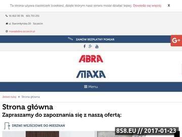 Zrzut strony ABRA SPÓŁKA Z O.O. drzwi zewnętrzne Szczecin