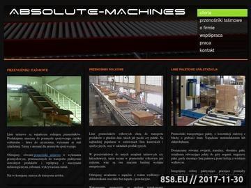 Zrzut strony Absolute Machines